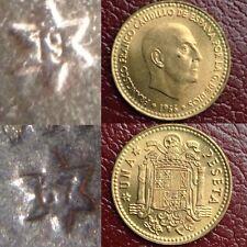 1 Peseta 1966 *67 1967 Sin Circular Franco España Spain Leer!! S/C
