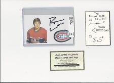 Ryan Walter Montreal Canadiens AUTOGRAPH AUTO INDEX HOCKEY CARD 100% COA