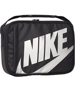 Nike Sportswear Fuel Pack Lunch Bag Black 9A2744-023 New Same Day Ship!!