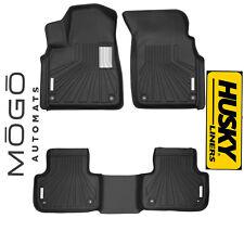 Front Fits 17-18 Audi Q7 MOGO 70111 Black Floor Liners