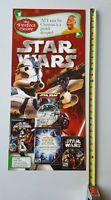 Video Game Store Display Sign STAR WARS Clone Trooper 12x26 Darth Vader Promo