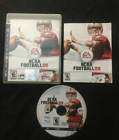 NCAA Football 09 — CIB! Manual Included! Fast Ship! (PlayStation 3, ps3, 2008)