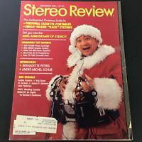VTG Stereo Review Music Magazine December 1981 - Interview Bernadette Peters