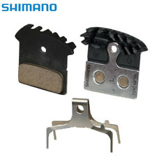 Shimano F03C Metal Cooling Fin Disc Brake Pads fit Deore SLX XT XTR M8000 US