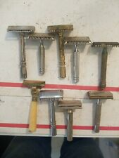 9 Vintage Shaving Razors 2 Are Gillette Used