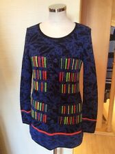 Olivier Philips Sweater Size 16 BNWT Blue Black Orange Green RRP £134 Now £54