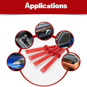 Set Of Car Plastic Interior Door Panel Dash Trim Audio Headlight Pry Removal Kit