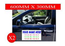 Magnetic Magnet Door Vehicle signs car van taxi   2x 600mm x 300m
