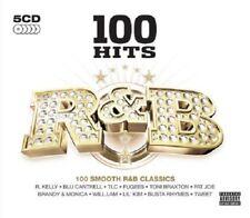 100 Hits R&B 5-CD Box Set NEW SEALED En Vogue/Will.I.Am/TLC/Fugees/Damage/Tweet+