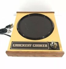 VINTAGE Sears Crockery cooker Electric Hot Plate Tested