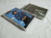 Lot of 2 Garth Brooks Cassette Tapes Ropin The Wind and No Fences 1990 1991
