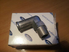 Brand New genuine  Ford Escort 1/2 Water elbow/ inlet manifold breather