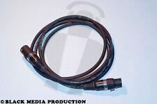 DMX XLR Kabel Binary 234 5 Pol 2 m HiCon nach DIN 110 Ohm (teilbelegt) *NEU*
