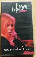 PATTY PRAVO - BYE BYE PATTY LIVE AL PIPER - VIDEOCASSETTA VHS VIDEOTAPE