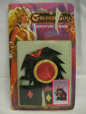 1984 Galoob Golden Girl  Dragon Queen Forest Fantasy MOC costume accessory set !