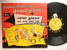 "Grady Martin+Slew Foot Five (10""Lp) POWERHOUSE DANCE PARTY~Festival VG+Australia"