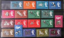 T4a - BR.SOLOMON IS.1966 WMK S/WAYS COMP. SET OF 18 MINT NEVER HINGED ON S/C