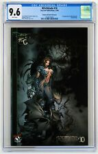 Witchblade #10 CGC 9.6 Gold Foil Variant 1st app Darkness Michael Turner Cover