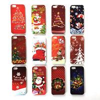 Christmas Xmas Hard Plastic Festive Phone Case Cover For iPhone & Samsung Galaxy