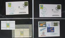 s1880) Raketenpost Zucker 88 Belege 1959 - 1961 plus Vignetten - einmalige Slg