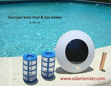 Solar chlorine free pool ionizer with LED - $20 OFF rebate - NO TAX!!