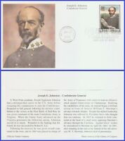 US #2975m U/A MYSTIC FDC   Civil War - Joseph Johnson