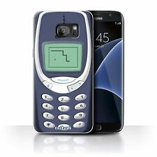 Stuff4 Case/cover for Samsung Galaxy S7 Edge/g935/retro Phones/blue Nokia 3310