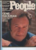 PEOPLE MAGAZINE Nov.3,1975 Gene Hackman George Jones Charlie Rich