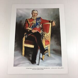 Alexander Talbot Rice Signed Print Royal Highness The Prince Of Wales Charles