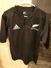 Official Adidas New Zealand All Blacks Rugby Jersey, Men's Medium, ClimaCool