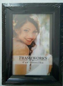 cadre photo 10x15cm noir frameworks