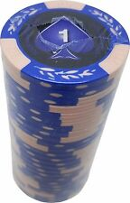 Poker Chips (25) $1 Tournament 14 gram Clay Composite FREE SHIPPING *