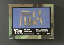Verlinden 1/35th Scale Resin US Bags & Packs for Military Vehicles Item No. 813