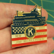 Kiwanis Pin - Kiwanis International - Jim McAllister 2002 New Orleans Riverboat