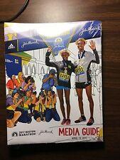 2017 Boston Marathon Media Guide New Unopened April 17 Records History Baa