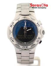 Tag Heuer Kirum Formula 1 CL111A-0 Chronograph Steel Digi/Ana Quartz Men's Watch