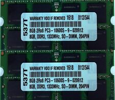 "16GB 2X 8GB DDR3 RAM MEMORY FOR APPLE IMAC CORE I5 OR CORE I7 27"" MID 2010 NEW"