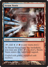 1x Steam Vents - Foil Light Play, English Return To Ravnica MTG Magic
