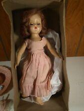 "Vintage R & B Arranbee Nancy Lee 14"" Doll Original Cloths and Box"