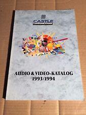 CASTLE COMMUNICATIONS - KATALOG - CATALOGUE - 1993 / 94 - LP - CD - MC
