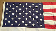 UK Seller USA  American Flag Fully Sewn  embroidered on flag cloth