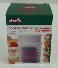 Chef'n Cookie Stamp 5 Sweet Ride Cookie Cutter Stamps NEW