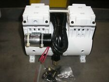 Airtech Oil-less Piston Type Vacuum Pump 115V 60HZ Single Phase NEW 2011