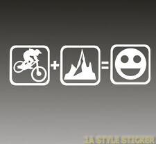 Bike + BERGE = FUN Bike Aufkleber MTB FREERIDE LRS Fully Elektrorad City