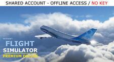 Microsoft Flight Simulator Premium Deluxe PC Steam OFFLINE - READ DESCRIPTION