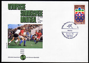 Kanada 556, Olympiade 1976 auf Sonderumschlag mit Sonderstempel