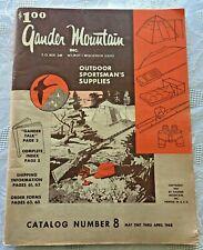 Vtg 1967-68 Gander Mountain Sportsman Supplies Catalog #8 Ray Ban Guns Scopes