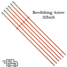 3Xarchery Fiberglass Arrow Hunting Arrow Bowfishing Arrows with Compound&Recurve