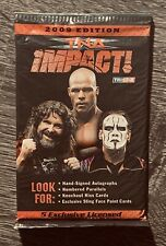 2009 Tristar - TNA IMPACT - Wrestling Cards - Unopened Foil Pack - FREE SHIPPING