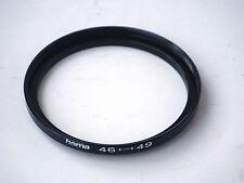 Bague de Conversion Métal / Objectif 46mm Accessoire 49mm HAMA